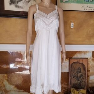 Vtg 50s Penney's Adonna Summer Breeeze Nightgown